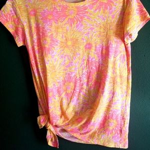 """Lilly Pulitzer """"Glin"""" Side Tie Top"""